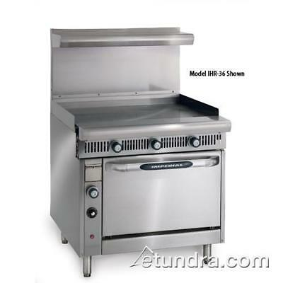 """Imperial - IHR-G36 - Diamond Series 36"""" Griddle- Manual w/ Standard Oven"""