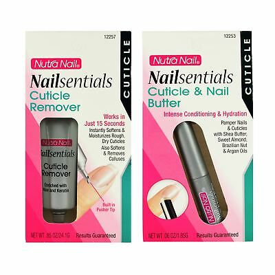 Nutra Nail Nailsentials Cuticle Remover, Cuticle & Nails Butter