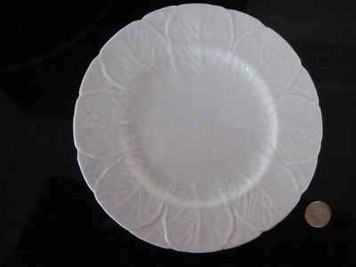 "Wedgwood Countryware Luncheon Salad Dessert 9"" Plate White China Coalport"