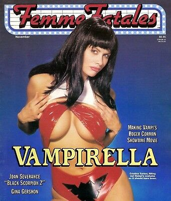 FEMME FATALES Magazines on DVD - Sexy Horror Movie Babes Magazines on DVD Rom