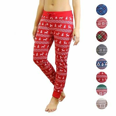 Ugly Christmas/Xmas Ladies Joggers from Galaxy By Harvic - Unique designs