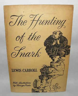 The Hunting of The Snark - Lewis Carroll, PB, 1960, Reprint Society