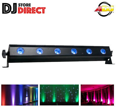 ADJ UB6H Ultra Bar Bright RGB LED Uplight Backlight DJ Ambient lighting UB 6H
