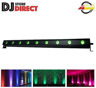 ADJ UB9H Ultra Bar Bright RGB LED Uplight Backlight DJ Ambient lighting UB 9H
