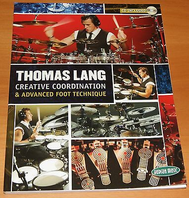 Creative Coordination & Advance Foot Technique Thomas Lang Notenbuch mit CD NEU