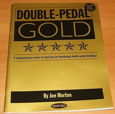 Double Pedal Gold Drum Joe Morton Schlagzeug Lernmethode Notenbuch mit CD NEU