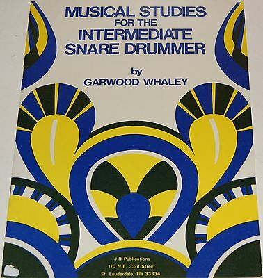 Musical Studies For The Intermediate Snare Drummer Schlagzeug Notenbuch