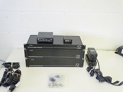 Lot of QLINK Camera/Video Controller/Routing Equipment w/ lots of extras!