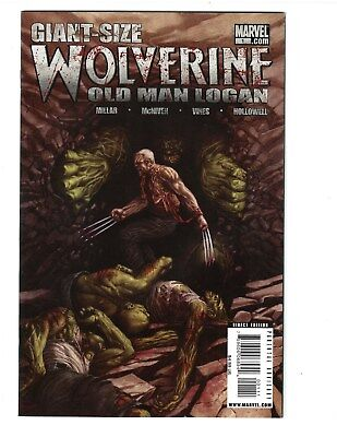 LOT of (3) OLD MAN LOGAN #1, #1 and GIANT-SIZE Wolverine #1 MARVEL COMIC VF+ HTF