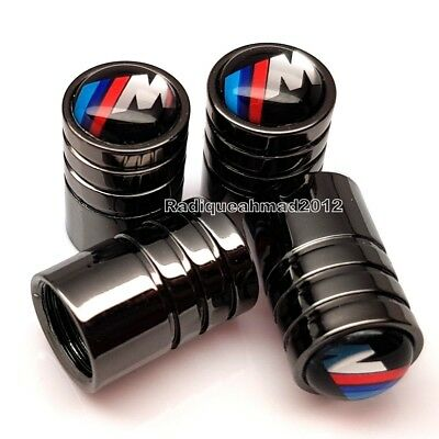 BMW M Sport Tyre Wheel Valve Dust Caps Motorsport X 4 fits BMW