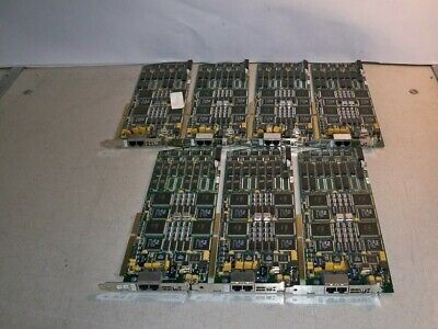Lot of 7*Dialogic D/480SC-2T1 Dual Span Voice Processing ISA Boards SEE NOTES