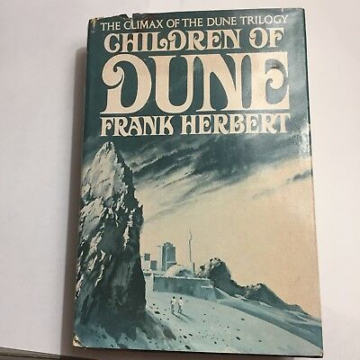 Children of Dune Frank Herbert Book Club Edition 1976 Hardcover