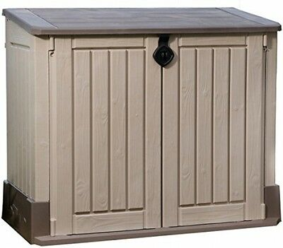 Keter Store It Out Midi Outdoor Plastic Garden Storage Shed, 130 X 74 X 110 Cm