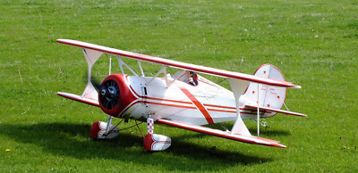 Scale Great Lakes Special 47in  RC model airplane plans & Instructions