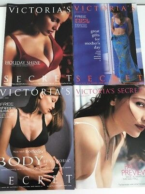 VERY RARE Laetitia Casts Victoria's Secret Catalogs *young Adriana Lima*