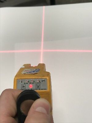Pacific Laser Systems PLS 180 Laser Interior Exterior Red Crossline As Is N3
