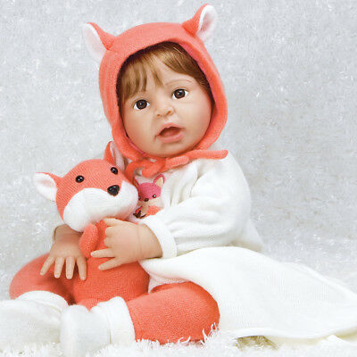 "Paradise Galleries Reborn Toddler ""Fox Trot"" - 22 inch Realistic Girl Baby Doll"