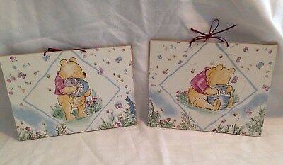 Winnie the Pooh Wooden Signs Wall Art Wall Decor