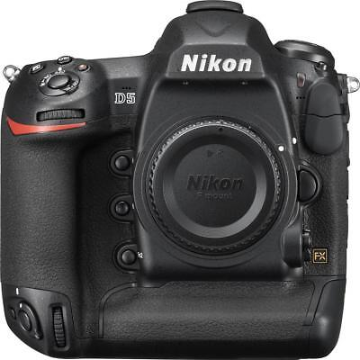 Nikon - D5 DSLR Camera Dual XQD (Body Only) Black