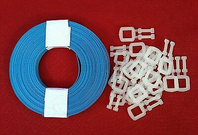 20m x 12mm Poly Strapping + 20 Plastic Buckles