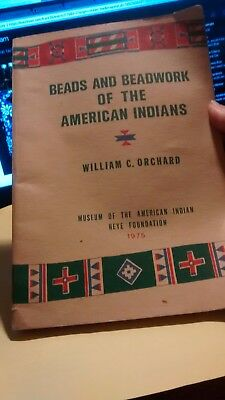 Beads Beadwork Of American Indians Book 1975