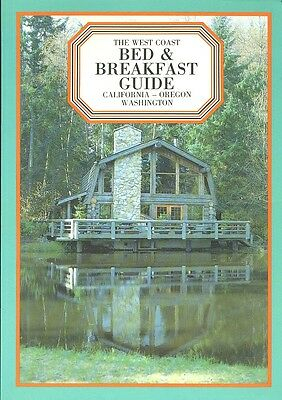 WEST COAST BED & BREAKFAST GUIDE (1984) SC, Worth, Berger & Faller