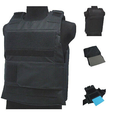 Tactical Wargame/AirSoft Paintball BB Bulletproof Armour Plate Stab Proof Vest E