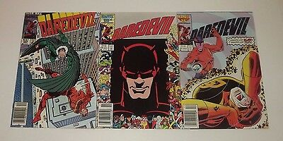 Marvel DareDevil comic lot of 3!! Issues 225 , 236 , and 237