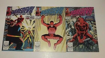 Marvel DareDevil comic lot of 3!! Issues 269 , 271 , and 272