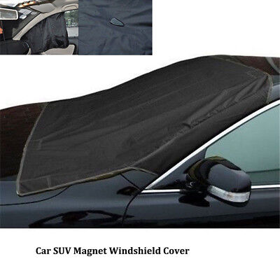 Car SUV Magnet Windshield Cover Sun Shield Snow Ice Frost Freeze Protector EA