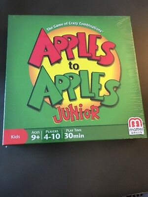New Kids Game Apples to Apples Junior Crazy Combinations N1387 Mattel Sealed