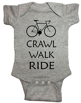 Crawl Walk Ride Infant Bicycle Baby One Piece