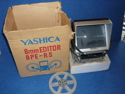 YASHICA 8MM Editor 8PE-RS Vintage Movie Film Editor in Box STEAMPUNK PARTS Retro