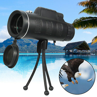OUTERDO 20x60 Dual Focus Optical HD Monocular Phone Camera Lens Telescope+Tripod