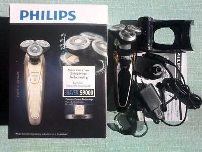 NEW 3D Philips S9911 Electric shaver Charge 3 head Veneer With trimmer