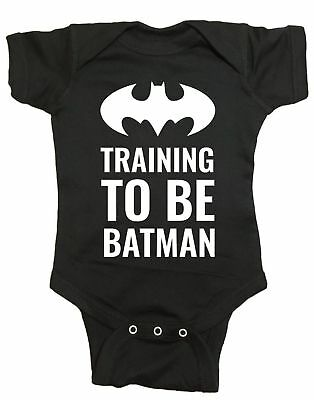 Training To Be Batman Infant Baby One Piece