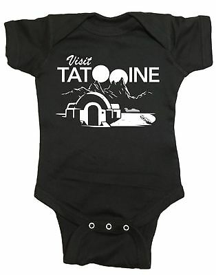 Visit Tatooine Infant Baby One Piece