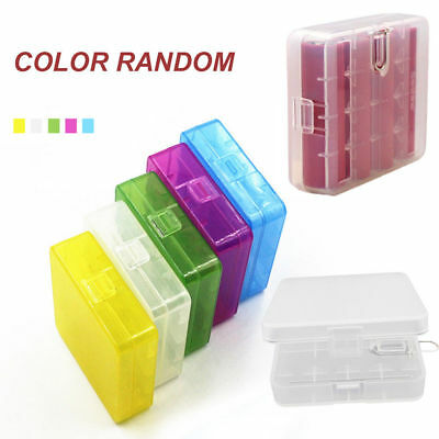 1x Hard Plastic Case Holder Storage Box Cover for Rechargeable AA AAA Battery