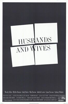 Husbands and Wives Original DS 27 x 40 Movie Poster