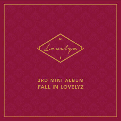 LOVELYZ - Fall In lovelyz CD+Photo Sticker+Photocard+Folded Poster+Tracking no.