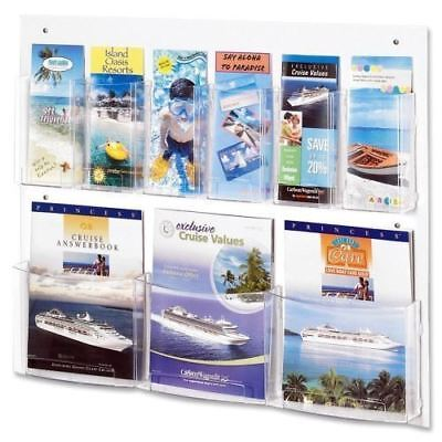 Safco Clear2c Magazine/Pamphlet Display 5666CL