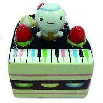 Ceramic Piano Shaped Cake Money Box