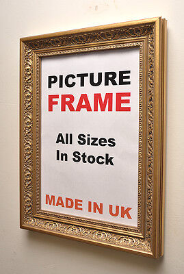 Antique Gold Ornate Picture Frame, All Sizes | Photo Picture Frames U.K.
