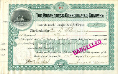 The Pocahontas Consolidated Company 1904