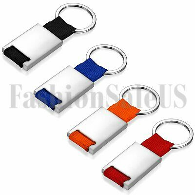 Personalized Creative Keyfob Keyring Keychain Key Chain Ring Gift Free Engraving