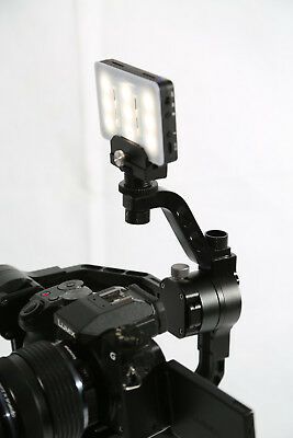 Zhiyun crane and Moza air Light and mic support arm