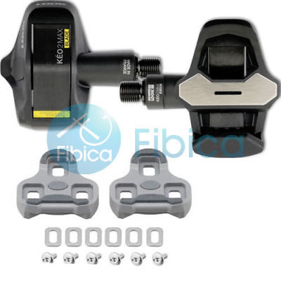 New LOOK KEO MAX BLADE 2 Carbon Road Cycling Pedals Black 8NM with Cleats