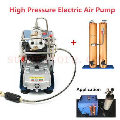 30MPa Air Compressor Pump 220V PCP Electric & Water-oil Separator Filtration 8mm