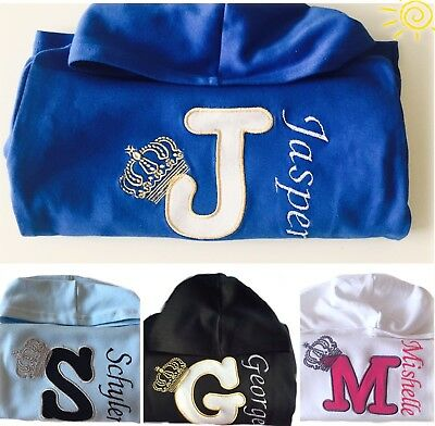 Personalised Baby,Kids Boy or Girl Clothes,Hoodie,Jumper,Top Name Christmas Gift