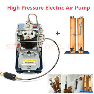 30Mpa Electric PCP Air Compressor Pump & Water-Oil Separator Filter Yong Heng